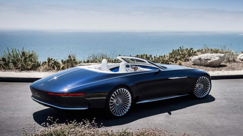 spektakel auf 5 7 metern vision mercedes maybach 6 cabriolet. Black Bedroom Furniture Sets. Home Design Ideas