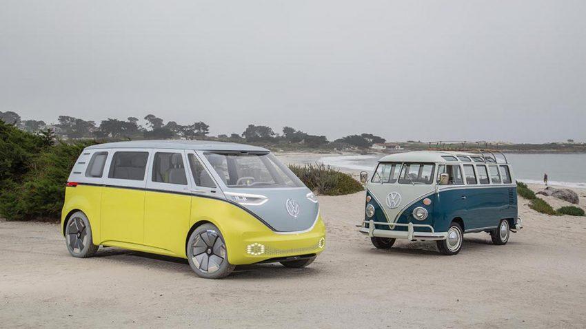 Es ist offiziell: VW schickt Elektro-Bulli I.D. BUZZ in Serie