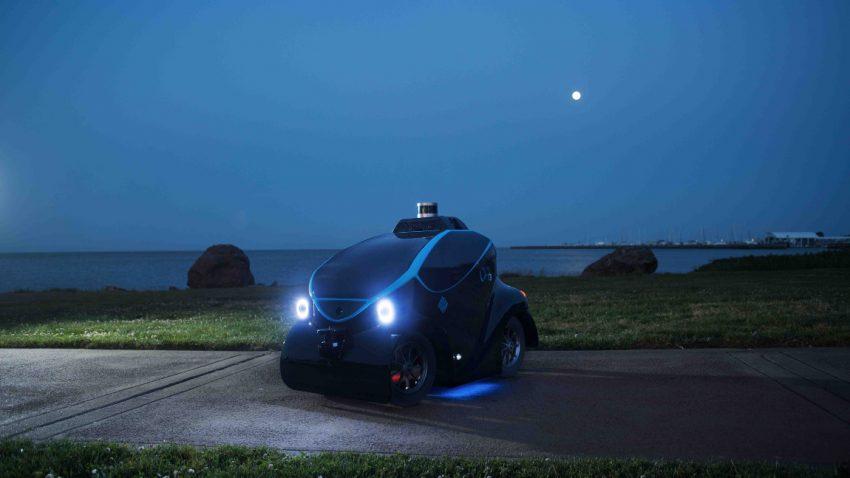 Dieses selbstfahrende Polizeiauto geht bald in Dubai auf Streife