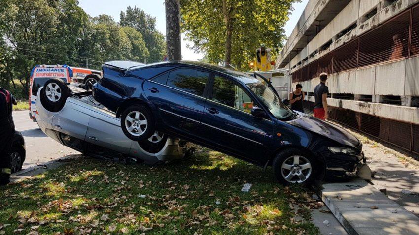 Skurriler Unfall in Wien