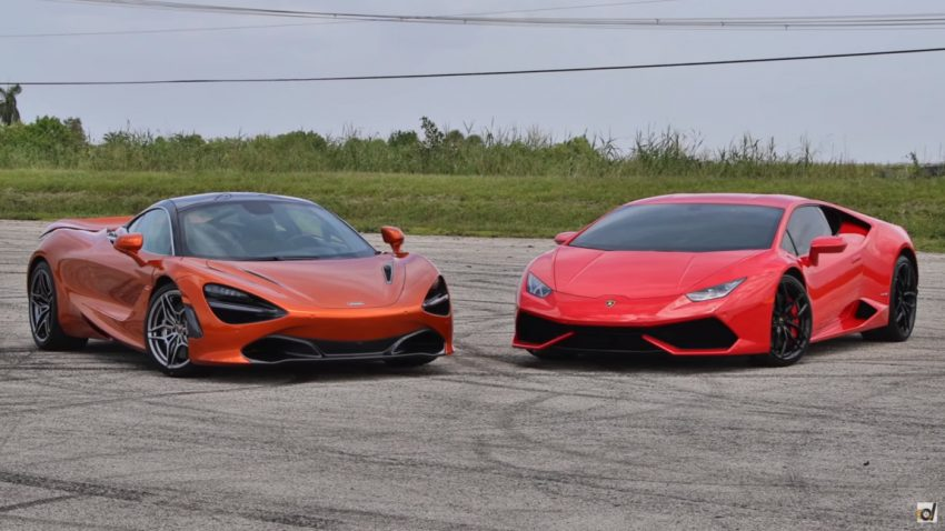 McLaren 720S vs. Lamborghini Huracán