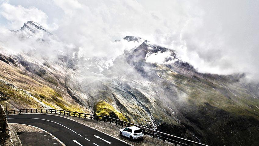 Die Reise mit dem VW E-Golf über den Großglockner