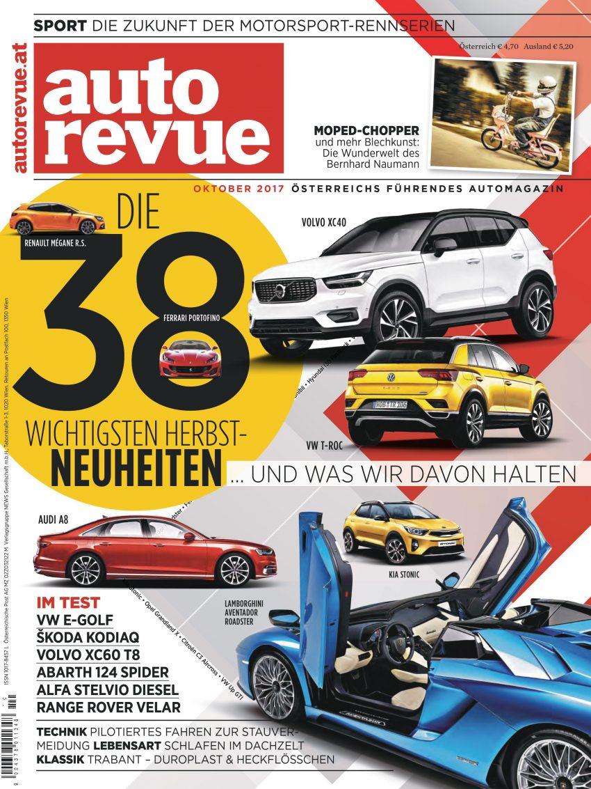 Autorevue Magazin: Ausgabe 10/2017