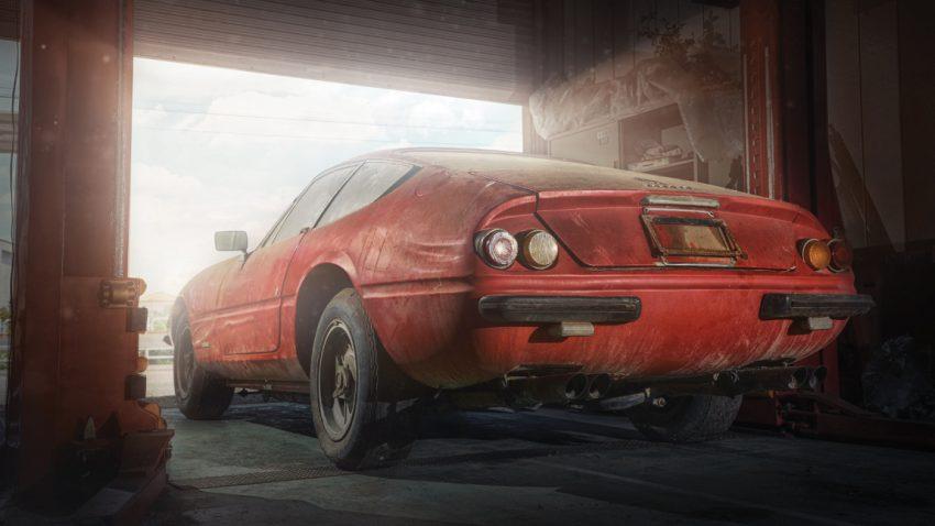 Scheunenfund zum Dahinschmelzen: Dieser einzigartige Ferrari Daytona soll 1,7 Millionen Euro bringen