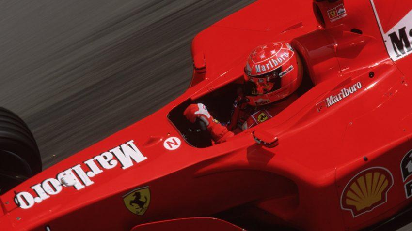 Michael Schumachers Ferrari F2001 wird versteigert