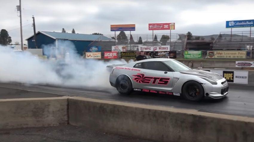 Neuer Weltrekord für den 3000 PS-Nissan GT-R