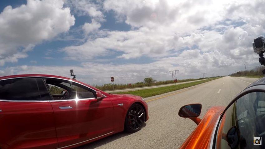 Showdown: Tesla Model S P100D vs. McLaren 720S