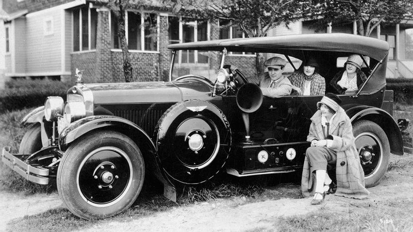 Die Geschichte des Autoradios