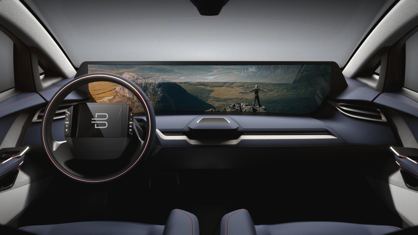Byton SUV Innenraum