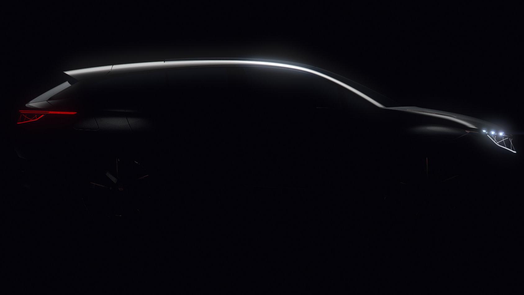 Byton SUV Silhouette