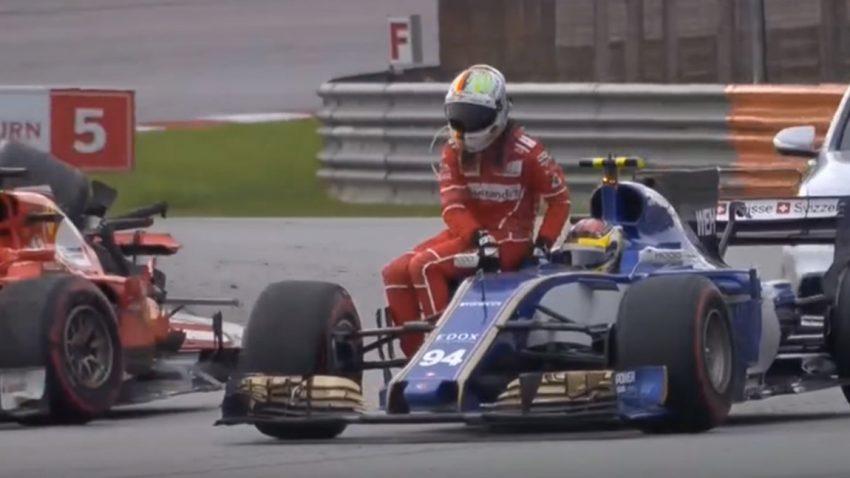 Sebastian Vettels tolle Aufholjagd und unnötiger Crash