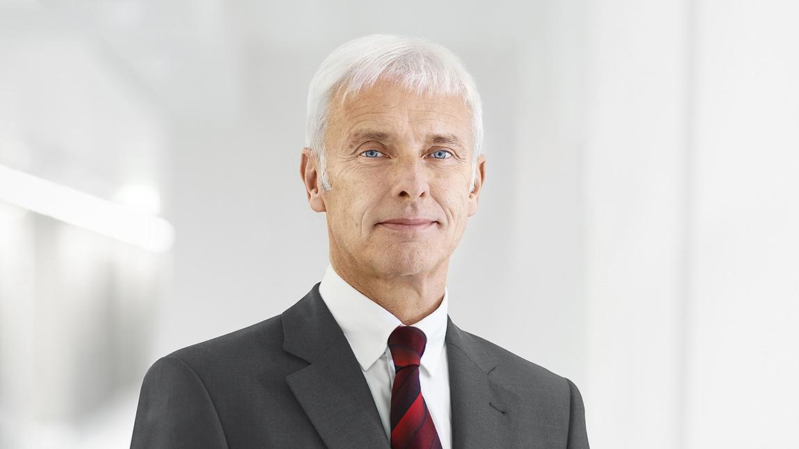 Matthias Müller VW Vorstandsvorsitzender