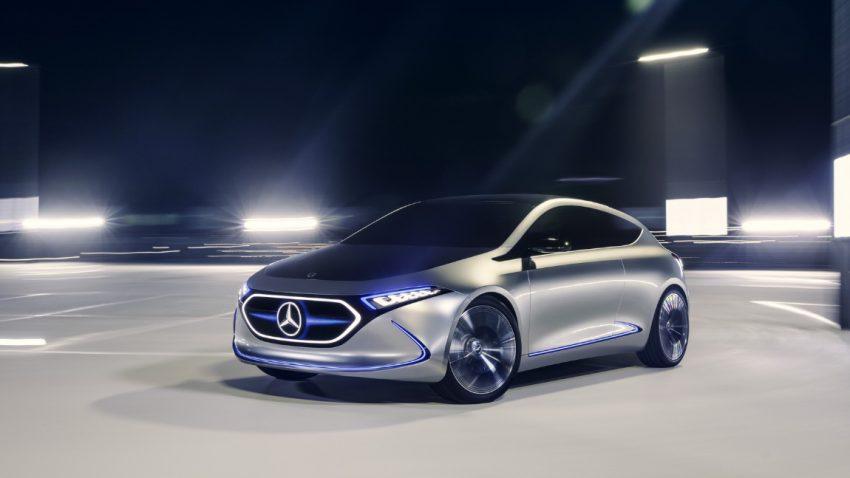 Mercedes Konzept EQA