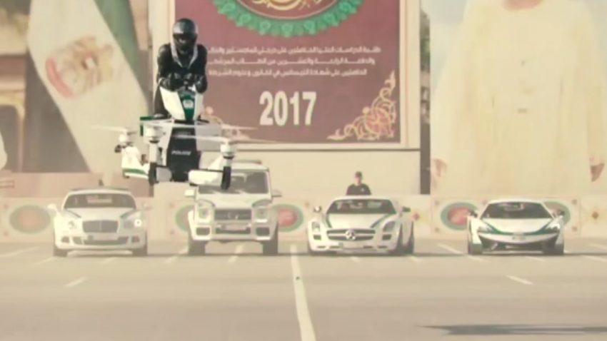 Die Dubaier Polizei bekommt echte, funktionierende Hoverbikes