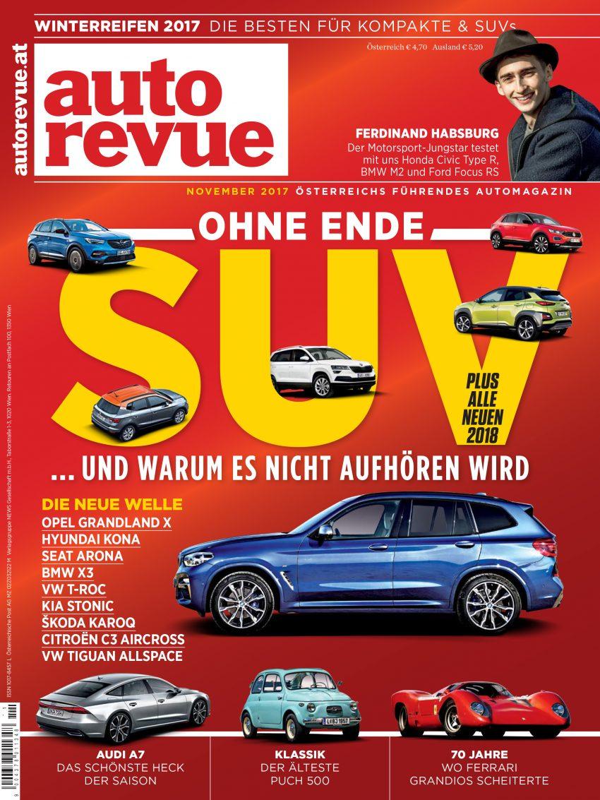 Autorevue Magazin: Ausgabe 11/2017