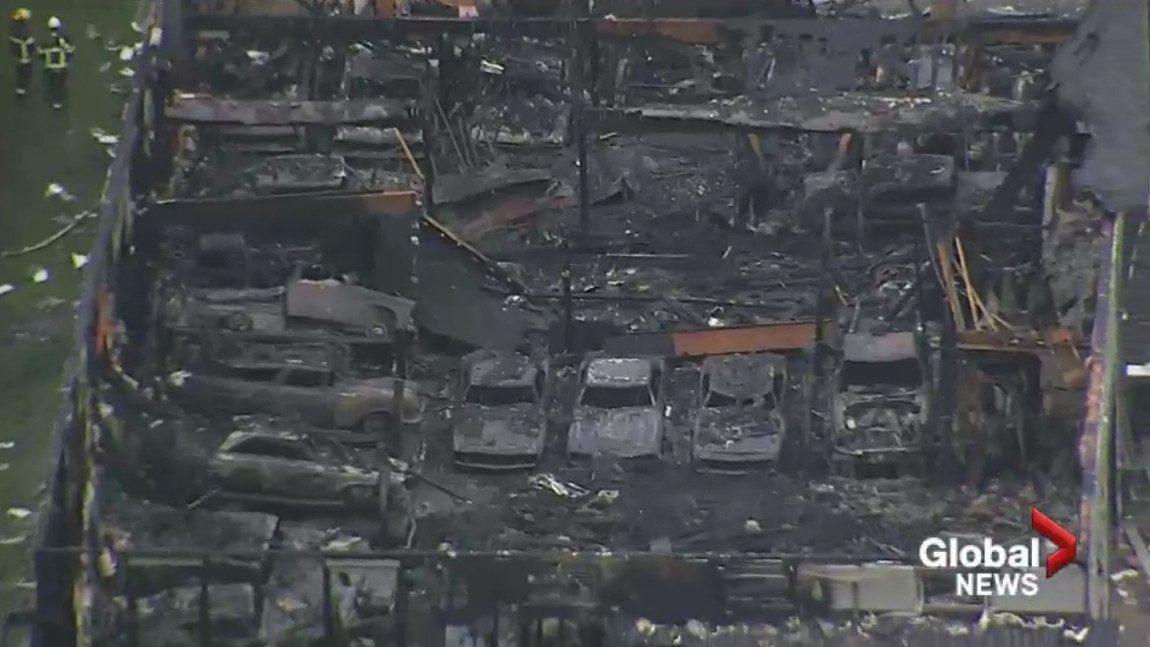 Feuer zerstörte Autosammlung im Wert von 2,5 Millionen Euro