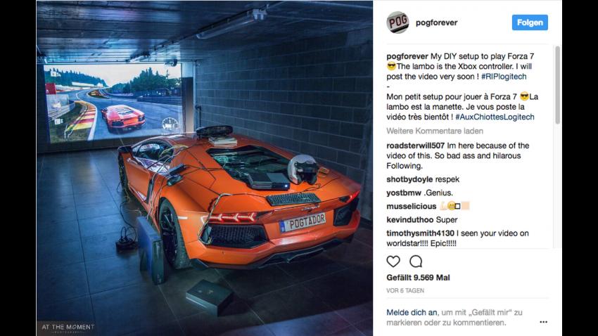 Dieser Lamborghini Aventador ist der wohl teuerste Xbox-Controller der Welt