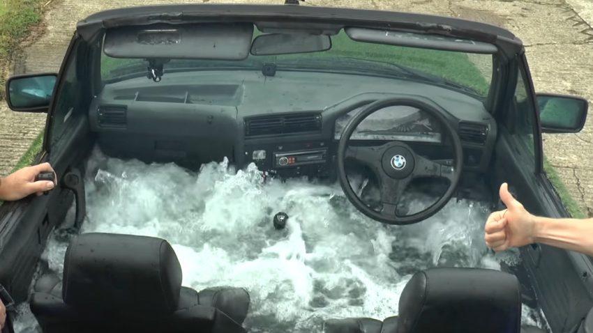 Dieser Typ hat seinen BMW zu einem fahrbaren Whirlpool umgebaut