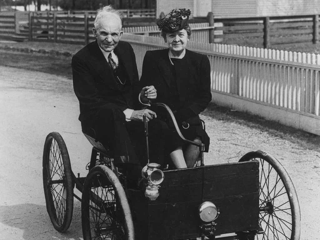 Henry und Clara Ford