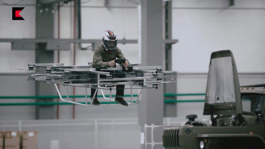AK-Hersteller Kalaschnikow entwickelt fliegendes Motorrad