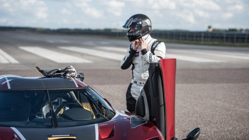 Koenigsegg bricht 0-400-0-Rekord