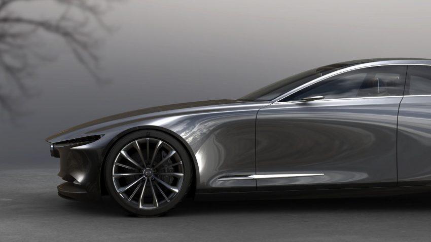 Mazda Vision Coupé Concept: Ausblick auf den neuen Sechser?
