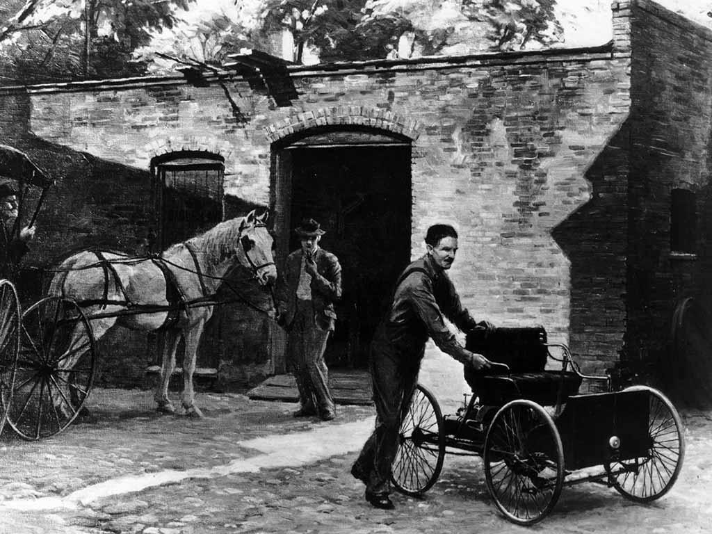 Henry Ford und sein erstes Automobil