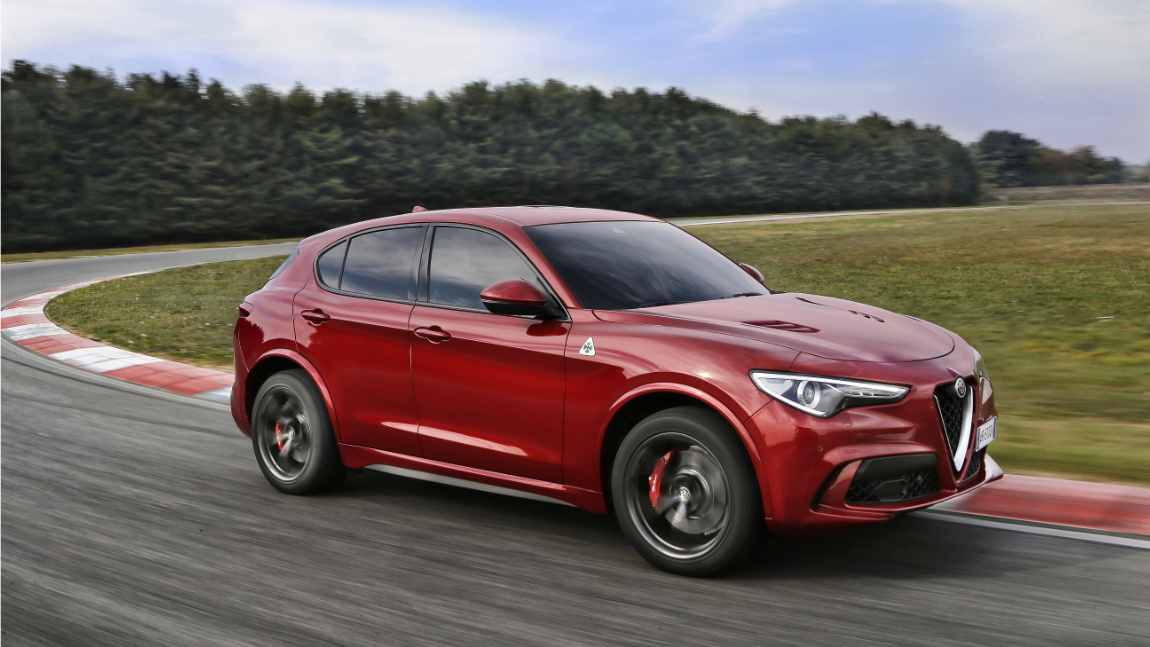 alfa romeo stelvio quadrifoglio preise und daten zum neuen top suv. Black Bedroom Furniture Sets. Home Design Ideas