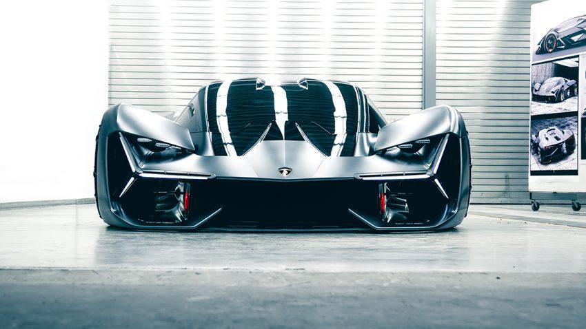 Lamborghini Terzo Millennio Designkonzept MIT