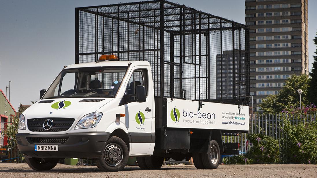 Bio Bean Lkw Biodiesel kaffeesatz
