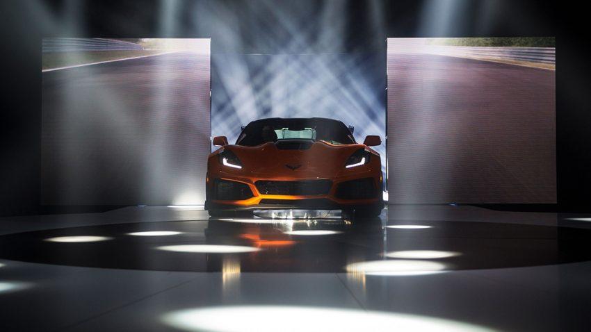Chevrolet Corvette ZR1 Premiere Prsäentation