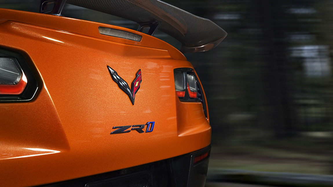 Chevrolet Corvette ZR1 Logo