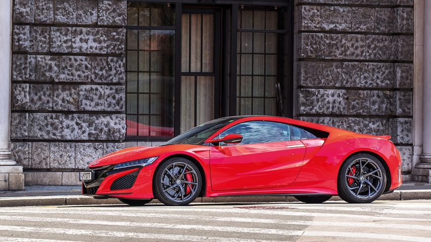 Honda NSX: All in one