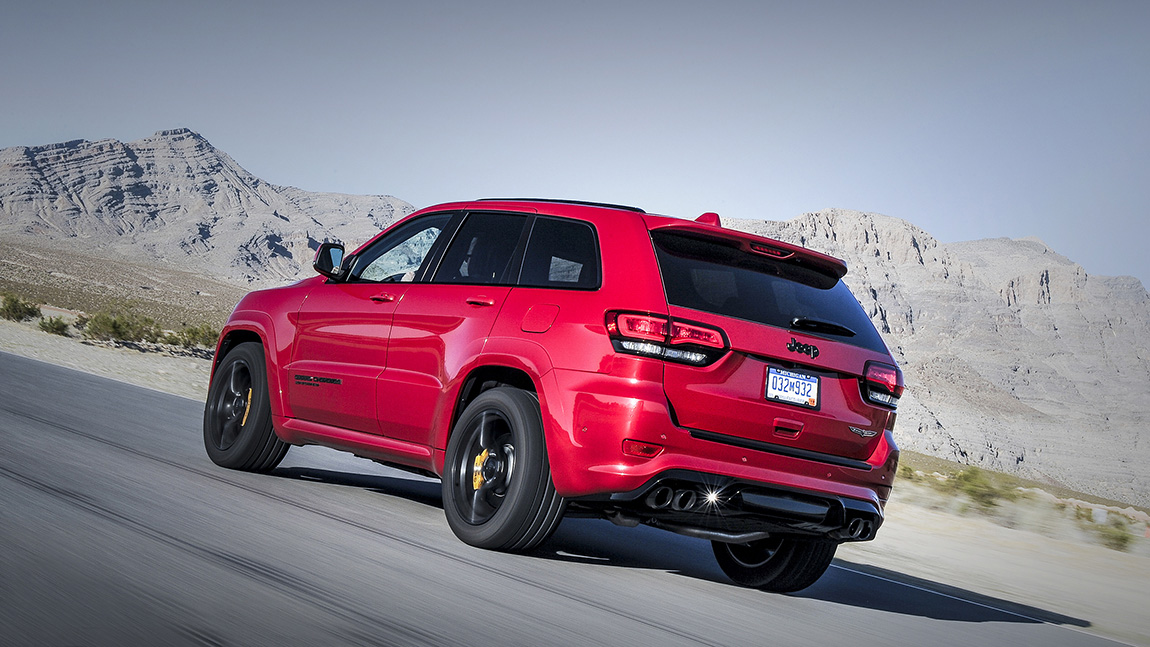 Jeep Grand Cherokee Trailhawk Dubai