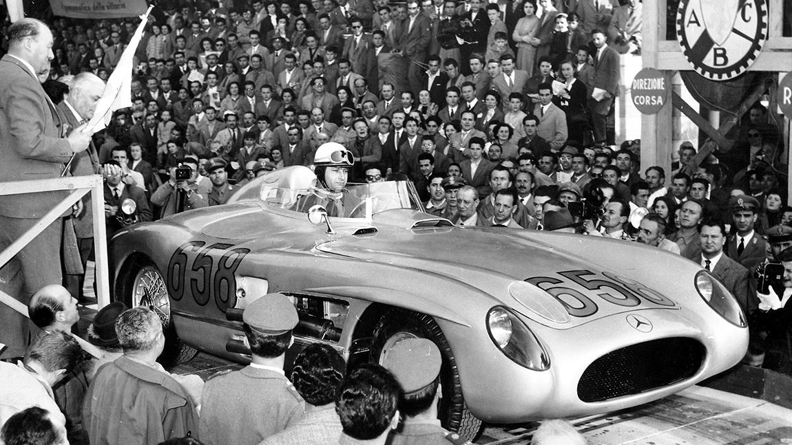 Juan Manuel Fangio Mille Miglia 1955