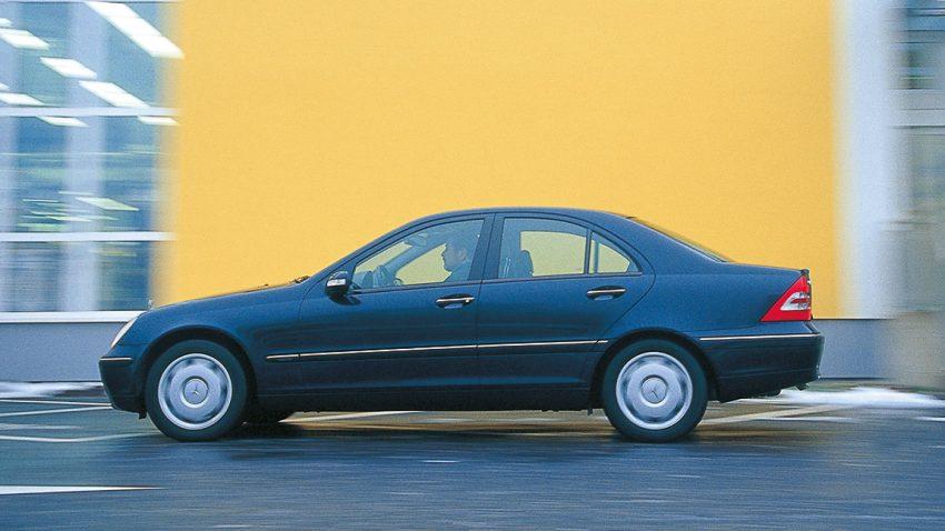 Mercedes C240: Das Ziel ist das Ziel