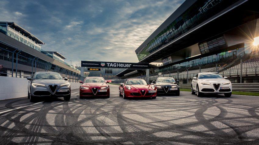 Mit der Scuderia Alfa Romeo auf dem Red Bull Ring