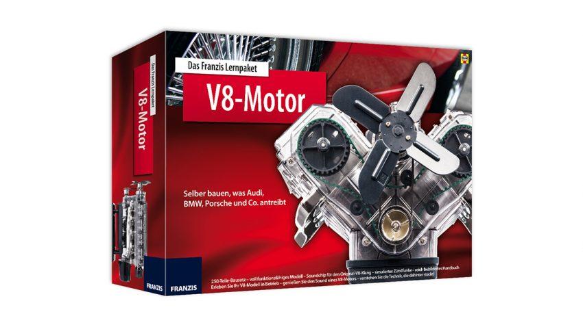 Adventkalender-Gewinnspiel: V8-Motor-Bausatz (beendet)