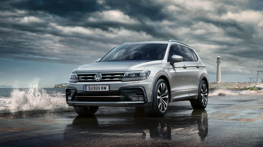 VW Tiguan Allspace: Autonom und voluminös