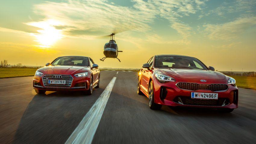 Böse Post aus Fernost: Kia Stinger GT vs. Audi S5