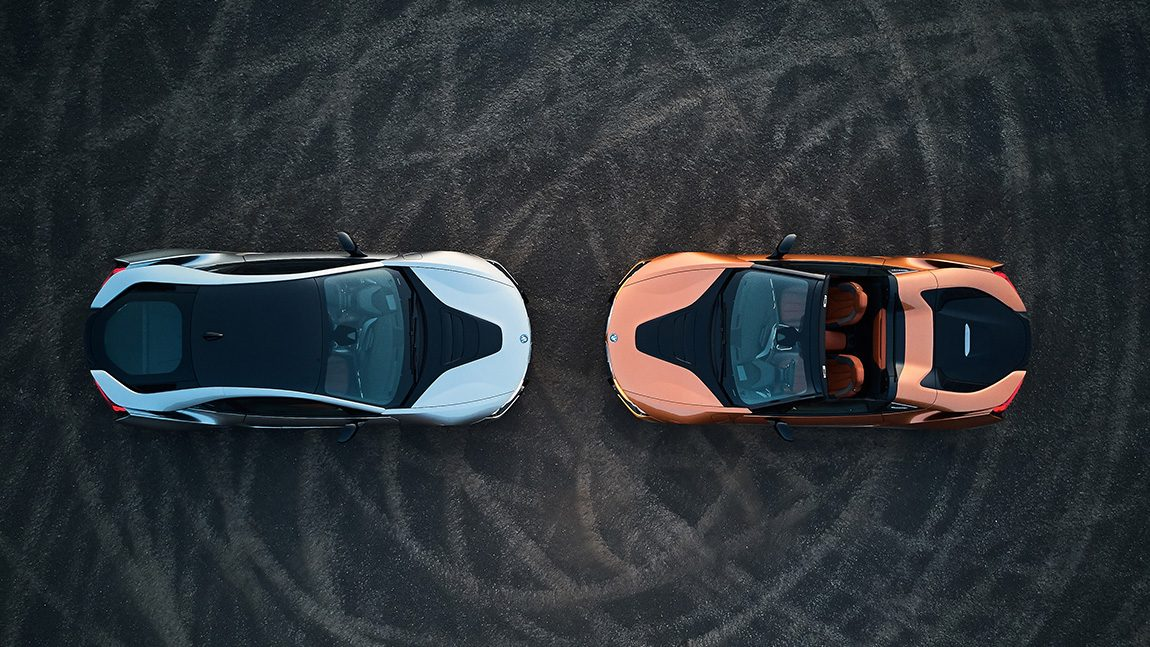 BMW i8 Roadster i8 Coupe