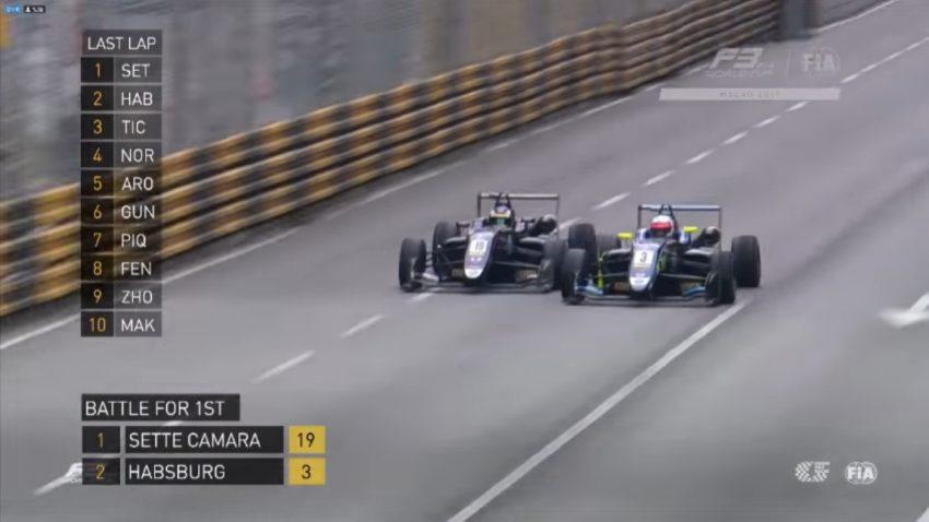 Spektakulärer Showdown: Ferdinand Habsburg zeigt Zähne im Formel 3-Duell