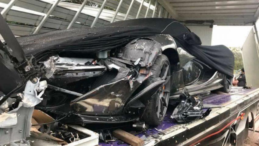 Wie dieser McLaren P1 verunfallen konnte, ohne die Straße zu berühren