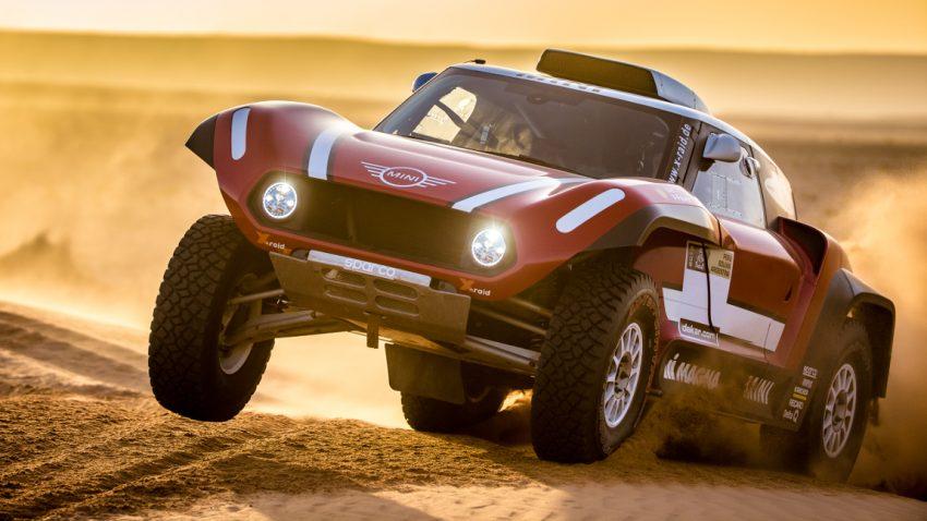 Mit diesem Buggy will Mini die Wüste erobern
