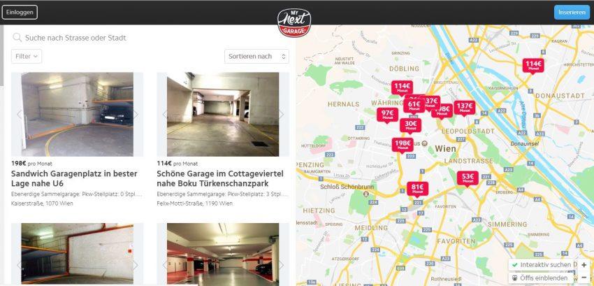 MyNextGarage: Hier könnt ihr Parkplätze privat (ver)mieten