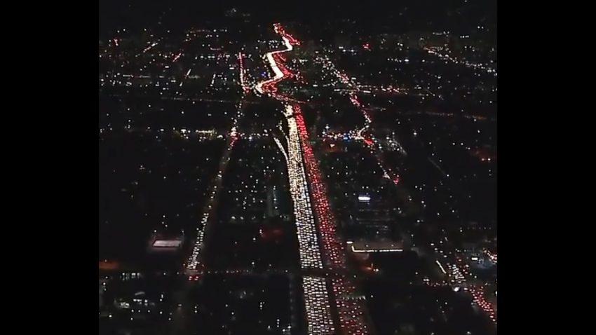 Dieser Wahnsinns-Stau in L.A. ist der Stoff, aus dem Alpträume sind