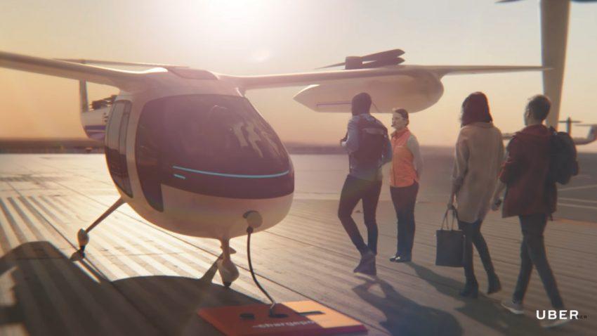 Uber und die NASA entwickeln gemeinsam fliegende Taxis