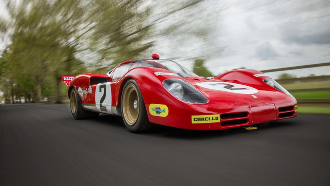 Ferrari 512s Und 512m Erfolglos In Le Mans Und Gegen Mcqueen