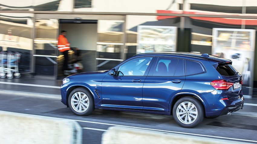 BMW X3 xDRIVE 20d: Generation 50 Prozent plus