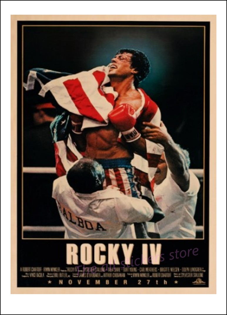 Filme die an Weihnachten spielen Poster Rocky 4